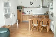 Eethoek keuken/woonkamer