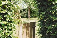 Entree boomgaard